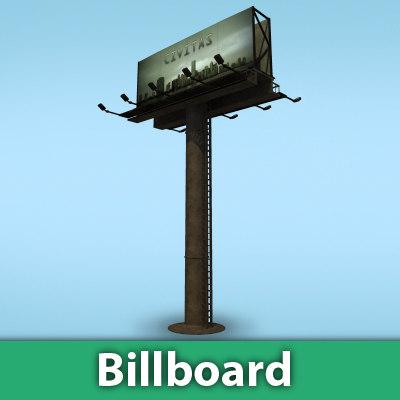 3ds max billboard street