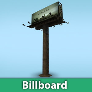 3ds max billboard street