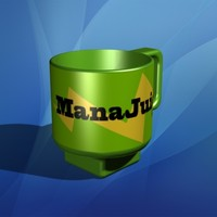3ds max coffee mug cup