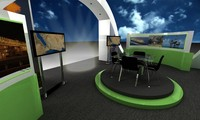 booth 3d max