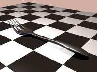free fork 3d model