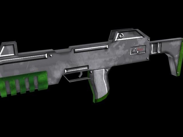 gun games 3d model