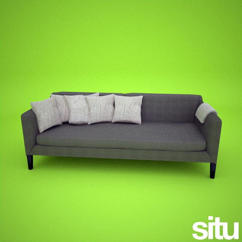 designer sofa italian 3ds