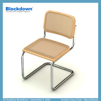 MB Armless Cesca Chair