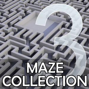 3ds set square mazes