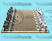 max chessboard pieces