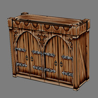 Lowpoly - Furniture - Cupboard