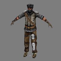 Lowpoly - Human Male - 6