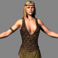3d medival female