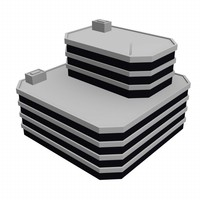 3d airport house model