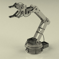 3d robotic arm model