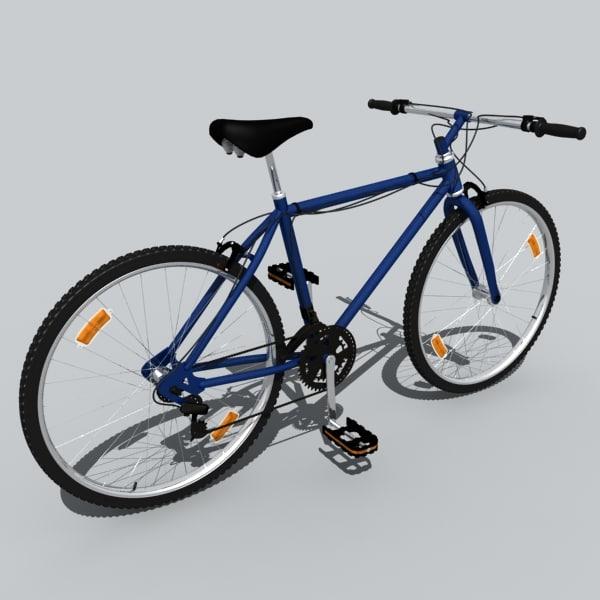 3d model bike animation
