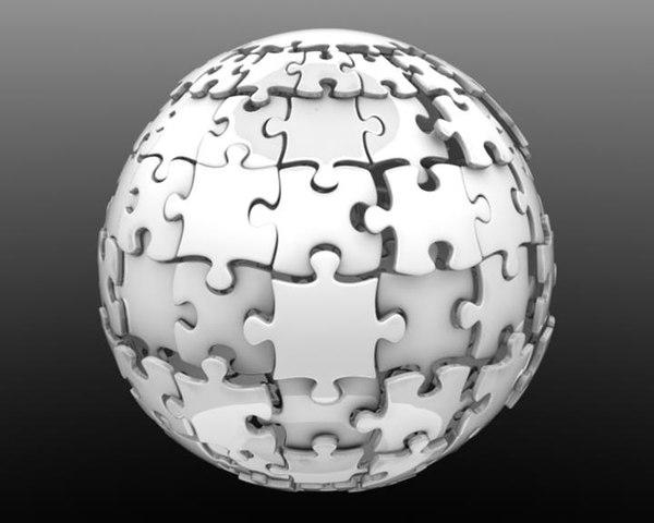 max puzzle globe