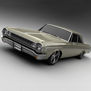 3d 1964 dodge polara 500