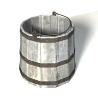 free bucket 3d model