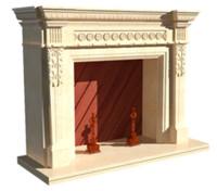 fireplace alexandria 3d 3ds