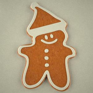 3dsmax gingerbread snowman