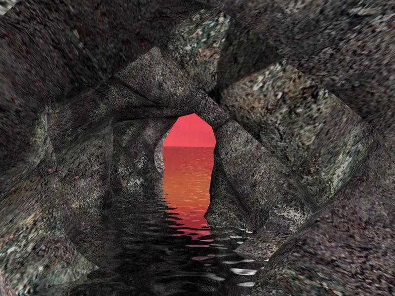paysage 3d model