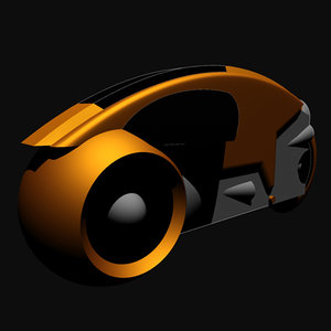 3d tron lightcycle model