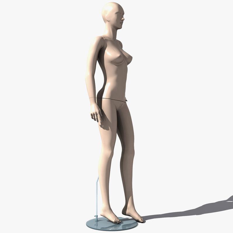human woman c4d