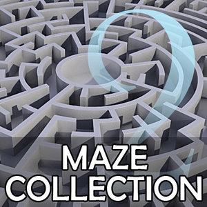 set circular mazes 3d 3ds