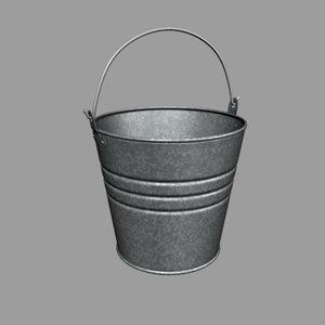 max metal bucket