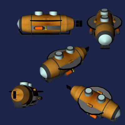 3ds max submarine sea