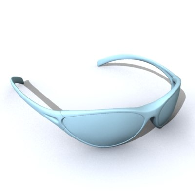 3d sunglasses eyewear model