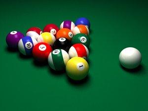 8 ball c4d