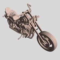 motorbike 3d max