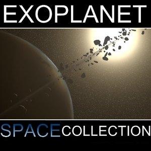 maya extra solar ringed planet