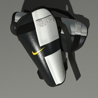 nike football soccer shins 3d max