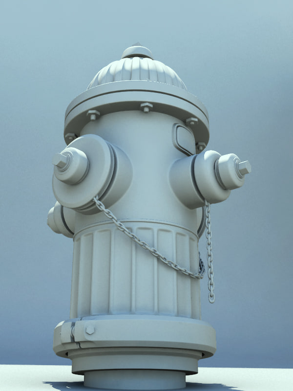hydrant 2008 res 3d obj