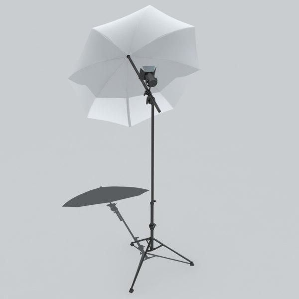 softbox light 3d model