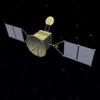 3d model space satelitte