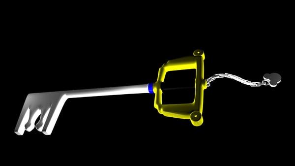 3d keyblade model