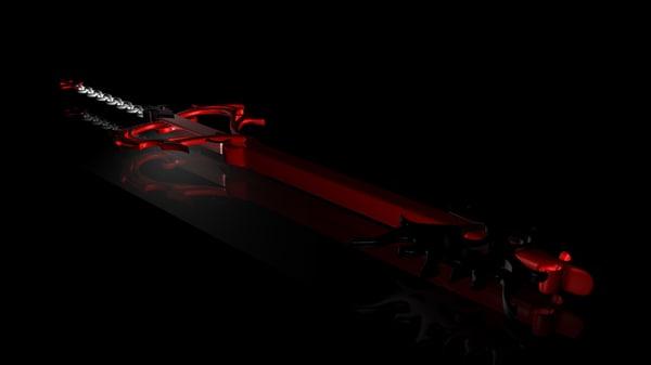free lurebreaker keyblade 3d model