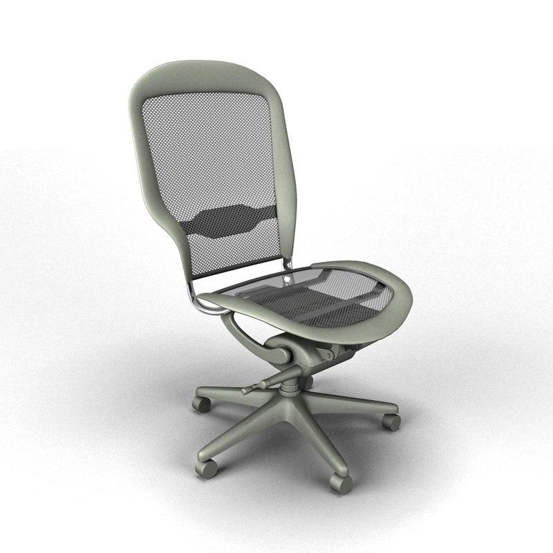 3d 3ds chair office