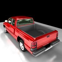 3d dodge ram 1500 model