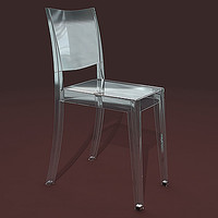 3d model of chair la marie
