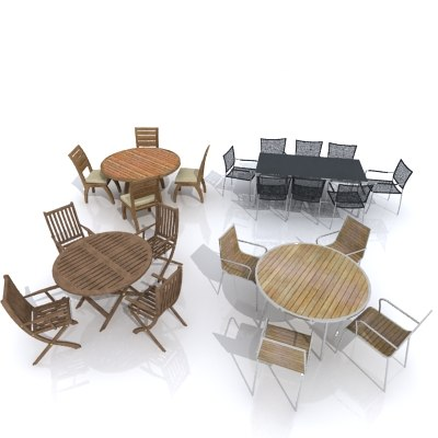 tables chairs max