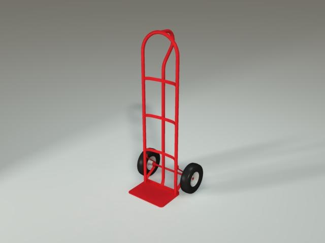 2 wheel dolly 3d 3ds