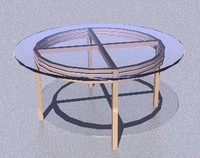 3DGlass Coffee table.dwg