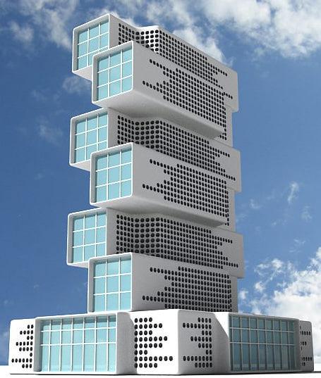 3d max building 01