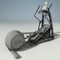 3d elliptical precor model