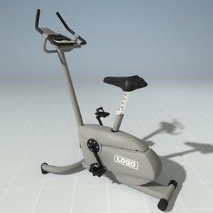 upright bike precor c842u 3d max