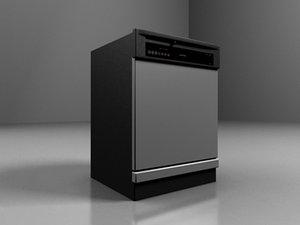 3ds max realistic dishwasher