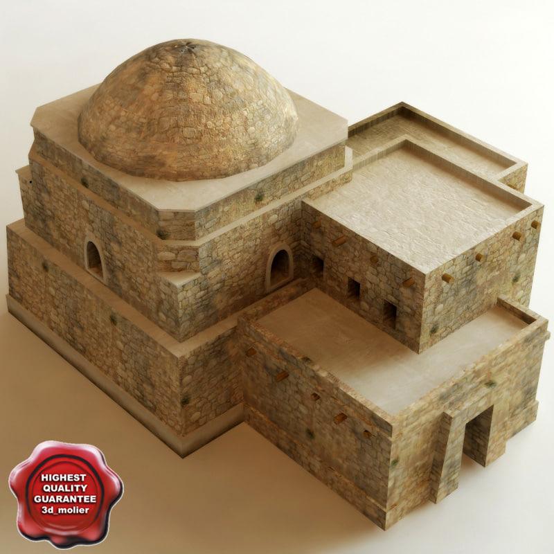 arab house v1 3d model