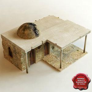 3d model arab house v2