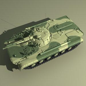 3d bmp-3 russian russia model